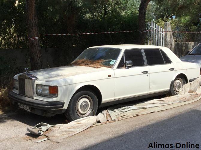 Η εγκαταλελειμμένη Rolls Royce