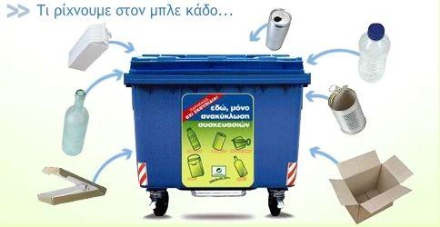 Συνεχίζεται στα σχολεία του Αλίμου η εκστρατεία ανακύκλωσης