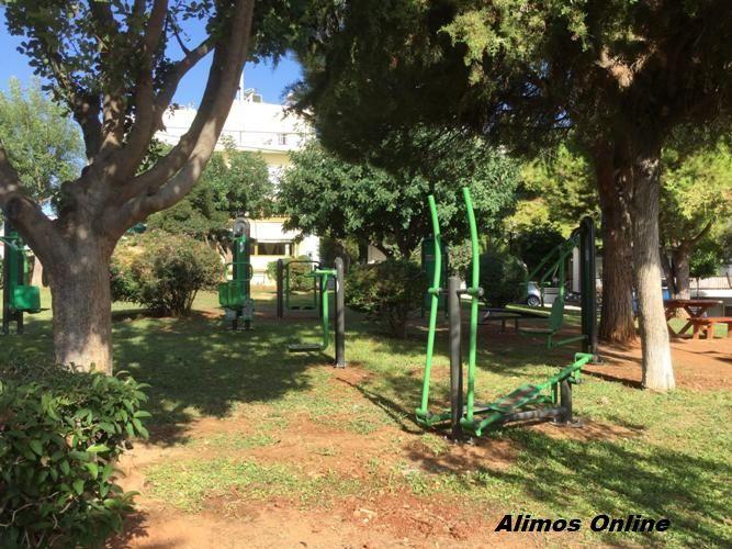 Νέο υπαίθριο γυμναστήριο στην Πλατεία Εκτελωνιστών