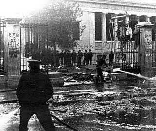 Ένας Αλιμιώτης που ήταν στο Πολυτεχνείο στις 17 Νοεμβρίου 1973, θυμάται...