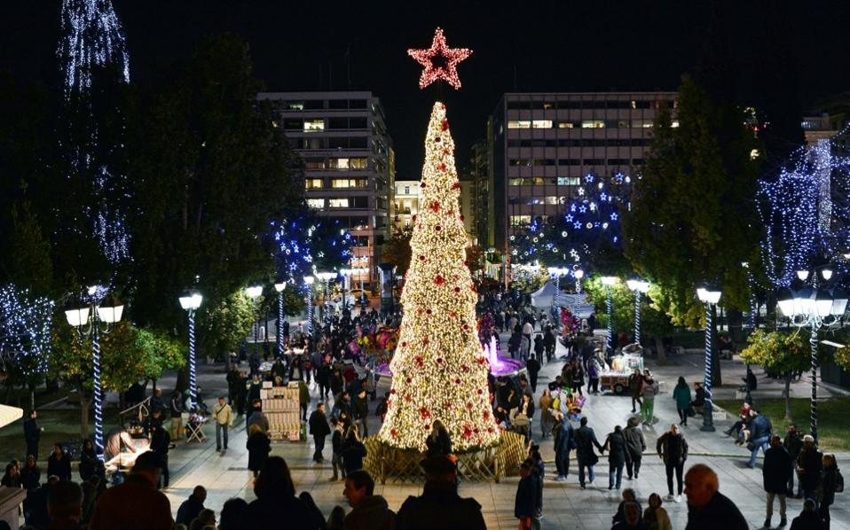 220 γιορτινές εκδηλώσεις σε 34 ημέρες ετοιμάζει ο Δήμος Αθηναίων