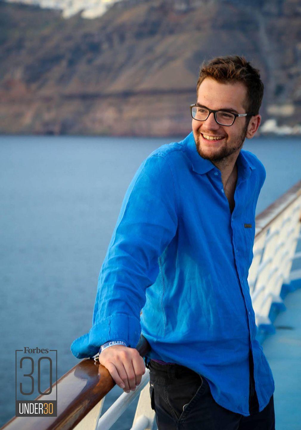 Ο 24χρονος Έλληνας που μπήκε στη λίστα του Forbes «30 Under 30»