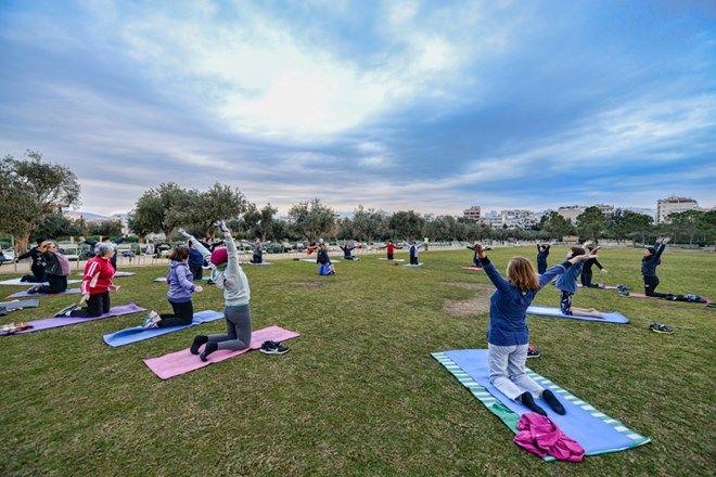 Δωρεάν μάθημα Pilates στο Πάρκο του Κέντρου Πολιτισμού Ίδρυμα Σταύρος Νιάρχος