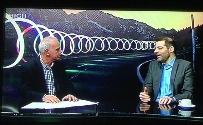 Ο Ανδρέας Κονδύλης στην εκπομπή «Χωρίς χρώμα» μίλησε για το Ανοιχτό Πανεπιστήμιο, τον Δημοτικό Κινηματογράφο και το λιομάζομα