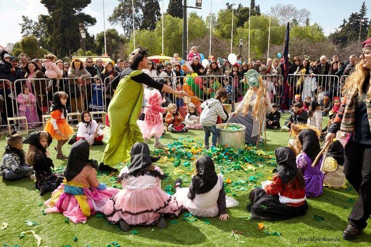 Αύριο το Ζάππειο θα γεμίσει μικρούς μασκαράδες σε μία μεγάλη αποκριάτικη γιορτή
