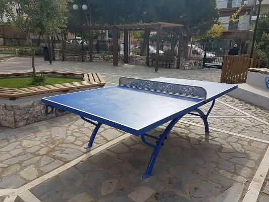 Ελληνικό-Αργυρούπολη: Τραπέζια Πινγκ Πονγκ σε ακόμη 8 πλατείες