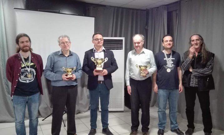 3ος αναδείχθηκε ο Αλιμιώτης Νίκος Δενδρινός στο Πανελλήνιο Πρωτάθλημα Λύσης Σκακιστικών Προβλημάτων
