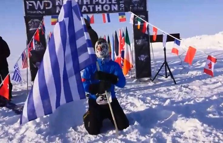 Έλληνας είναι ο νικητής του Μαραθωνίου στο Βόρειο Πόλο - Το βίντεο με τον τερματισμό