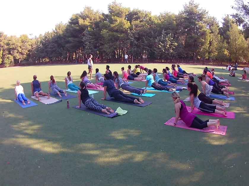 Yoga στο Πάρκο Παπάγου από τον Δήμο Αλίμου και με ειδική τιμή για τους Αλιμιώτες και τις Αλιμιώτισσες