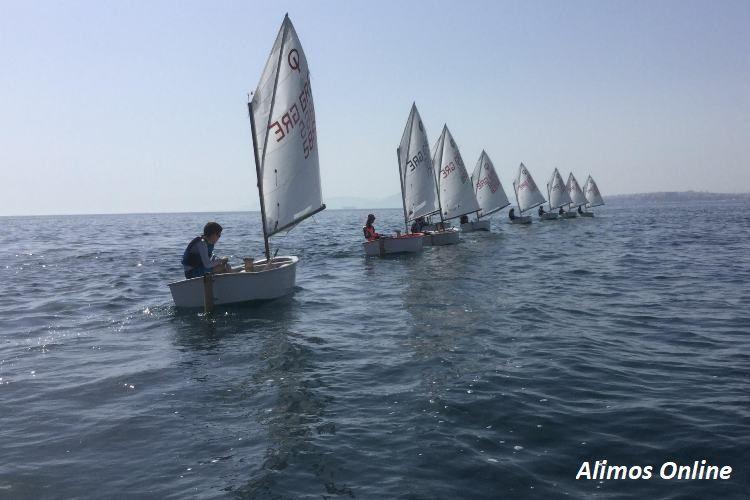 Δωρεάν δοκιμαστικά μαθήματα Ιστιοπλοϊας στον Ναυτικό Όμιλο Καλαμακίου