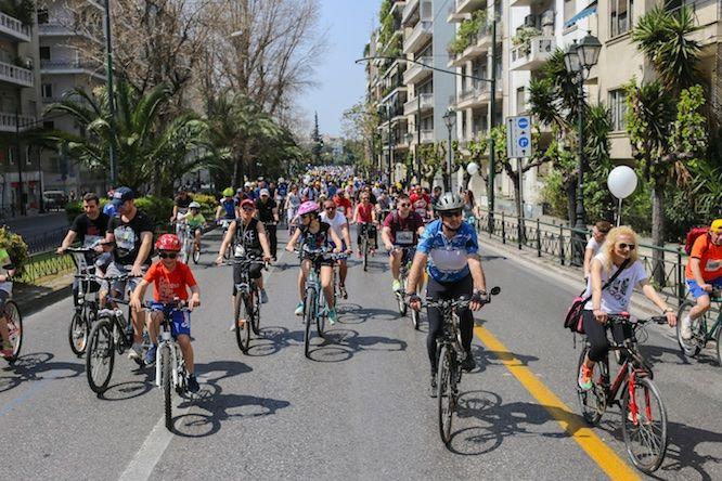 25ος Ποδηλατικός Γύρος Αθήνας: Η Αθήνα γεμίζει ποδήλατα