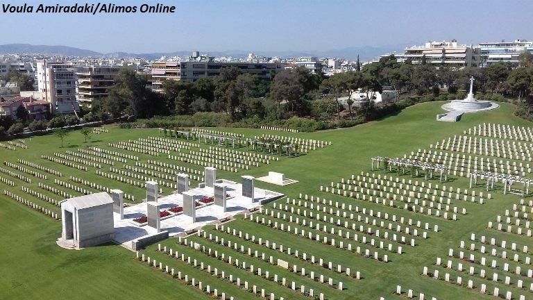 ΑΝΖΑC Day στο Συμμαχικό Νεκροταφείο Αλίμου