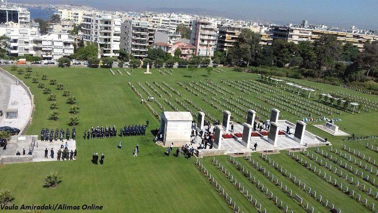 ANZAC DAY: Πραγματοποιήθηκε η τελετή μνήμης στο Συμμαχικό Νεκροταφείο Αλίμου