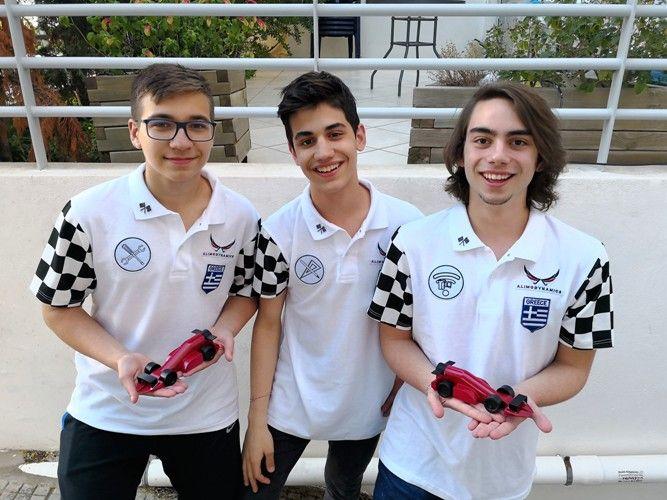 Στην τελική ευθεία για το F1 in Schools η ομάδα AlimoDynamics