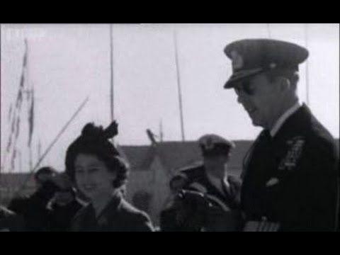 Η επίσκεψη της -τότε- Πριγκίπισσας Ελισσάβετ και η άφιξή της στο Φάληρο