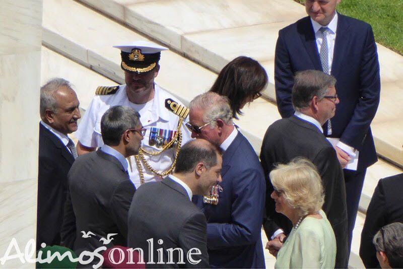 Ο Άλιμος και ο Δήμαρχος Αλίμου υποδέχτηκαν τον Πρίγκιπα Κάρολο
