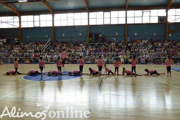 Εντυπωσιακή παράσταση από τα παιδάκια του τμήματος ρυθμικής γυμναστικής του ΘΟΠΑΑ