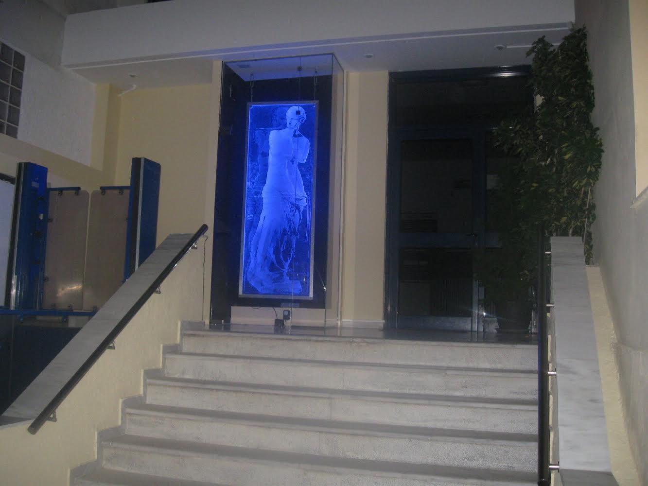 Εγκαταστάθηκε απόψε η όμορφη Αφροδίτη στο Δημαρχείο Αλίμου
