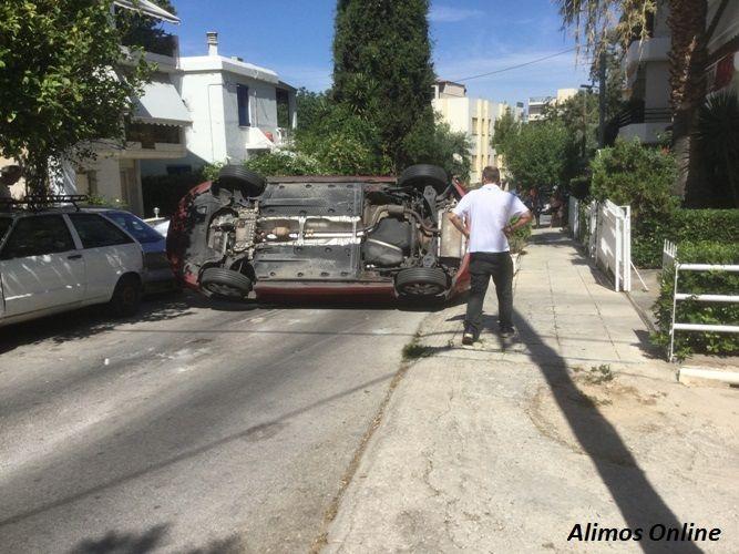 Aναποδογύρισε αυτοκίνητο στην Τσουκανέλλη