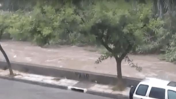 Βίντεο με τη χθεσινή βροχόπτωση στο Ρέμα Πικροδάφνης