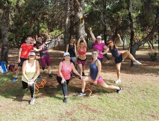 Outdoor Training με το The Body Project – by Eleni Gerondi