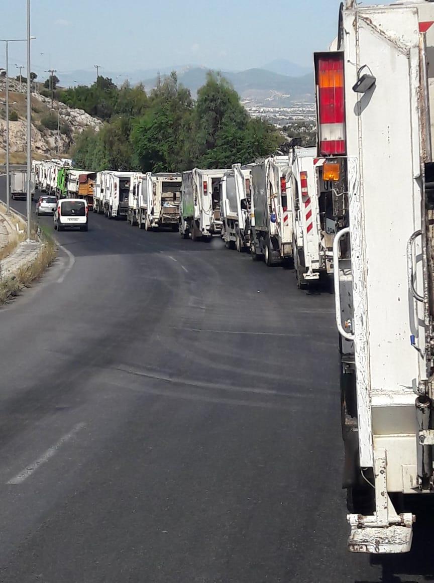 Ανακοίνωση του Δημάρχου Αλίμου, Ανδρέα Κονδύλη, σχετικά με τα απορρίμματα
