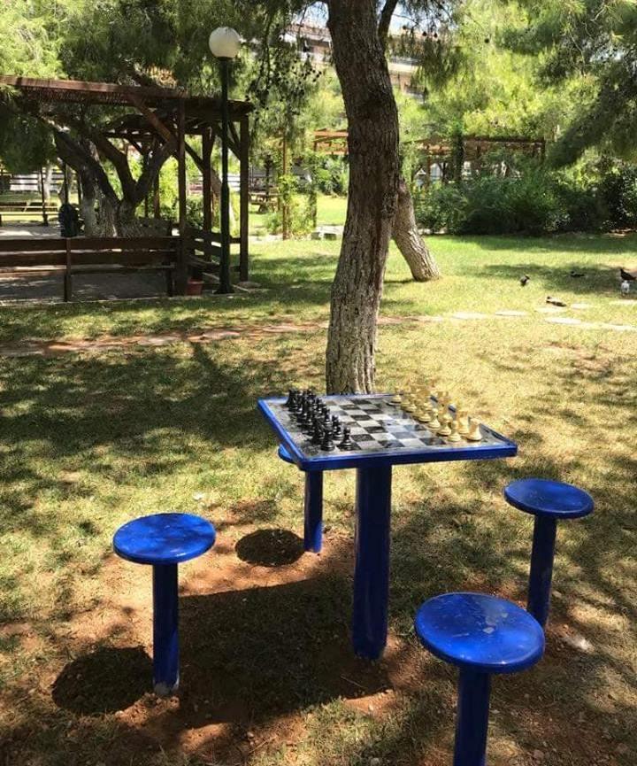 Υπαίθριο σκάκι σε δύο πάρκα της Αργυρούπολης