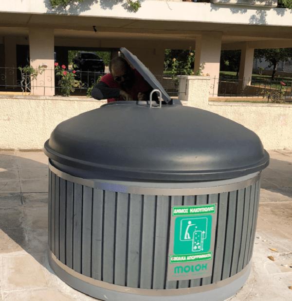 Ηλιούπολη: Ο πρώτος Δήμος της χώρας που εγκαθιστά έξυπνους αισθητήρες στους υπόγειους κάδους