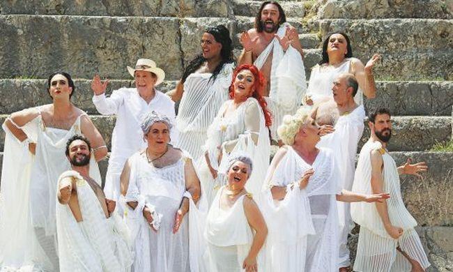 Οι «Εκκλησιάζουσες» του Αριστοφάνη, αύριο στην Ηλιούπολη