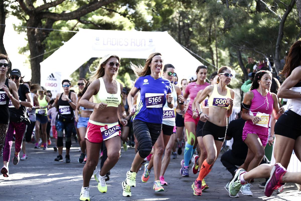 Ladies Run: Αγώνας δρόμουμόνο για γυναίκες στη Βουλιαγμένη