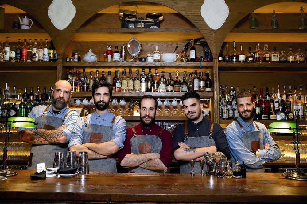 Δύο Αθηναϊκά bar ανάμεσα στα καλύτερα του κόσμου