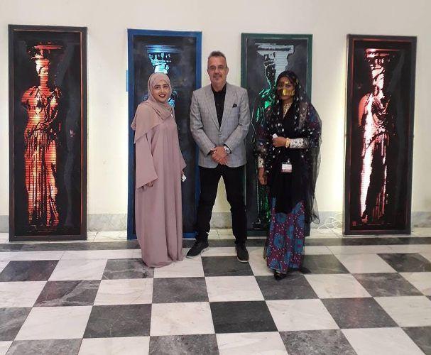 O Αλιμιώτης καλλιτέχνης Χρήστος Αντωναρόπουλος συμμετέχει στην Πολιτιστική Εβδομάδα Εμιράτων-Ελλάδας στην Αθήνα