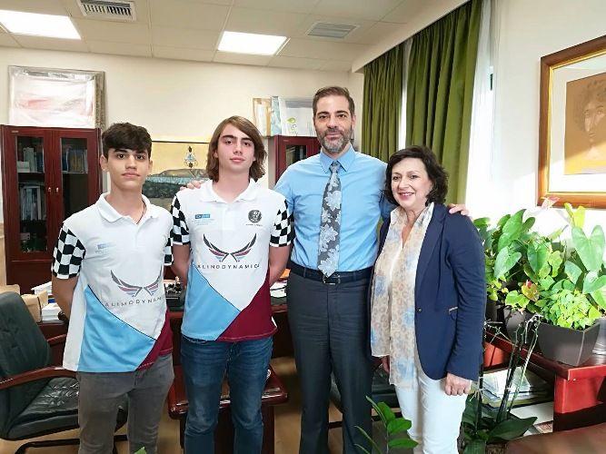 Η ομάδα AlimoDynamics συμμετέχουν ξανά στον διαγωνισμό F1 in schools
