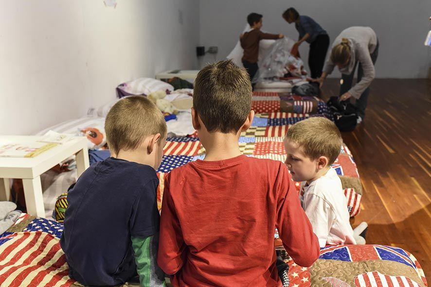 Sleepover στο Βιομηχανικό Μουσείο Φωταερίου για οικογένειες