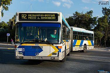 Νέα επίθεση έγινε χθες το βράδυ σε λεωφορείο στη Λ. Συγγρού – Η τρίτη επίθεση σε λεωφορείο της γραμμής Α2