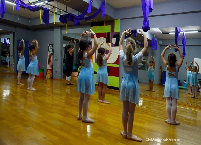 Στο «Hellenic Gym» τα παιδιά έχουν την πρώτη τους γνωριμία με τον χορό