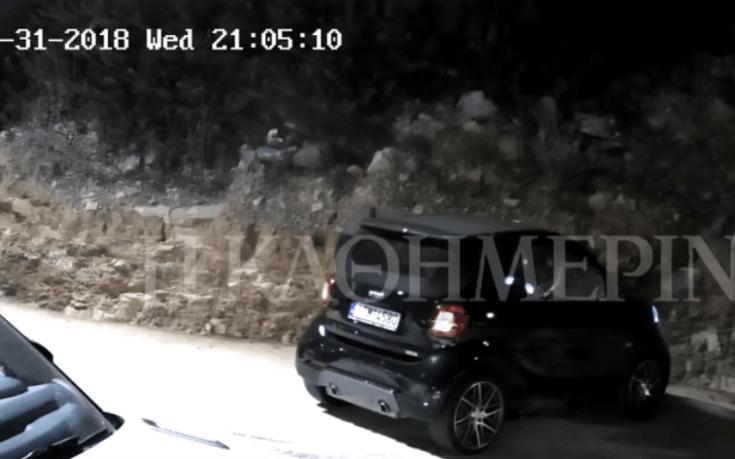 To video με την εκτέλεση του 46χρονου επιχειρηματία στη Βούλα