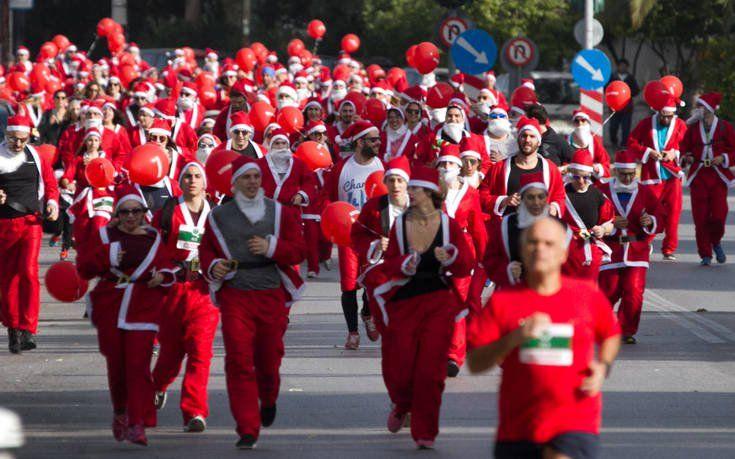 Το 5ο Santa Run θα διεξαχθεί φέτος στα Βόρεια Προάστια