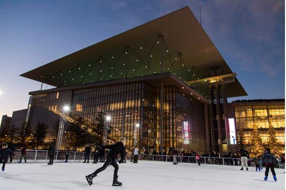 Το παγοδρόμιο επιστρέφει στο Κέντρο Πολιτισμού Ίδρυμα Σταύρος Νιάρχος