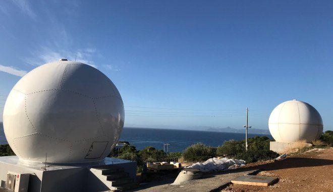 Νέος δορυφορικός σταθμός στο Καβούρι