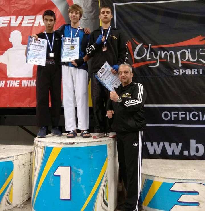 3 μετάλλια για τον «Φωκέα» στο Πανελλήνιο Πρωτάθλημα kick boxing