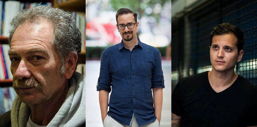 Αζαριάδης, Γιαννίσης, Σίμος: Τρεις συγγραφείς της αστυνομικής λογοτεχνίας έρχονται στον Άλιμο και μιλούν για το «στήσιμο» ενός φόνου