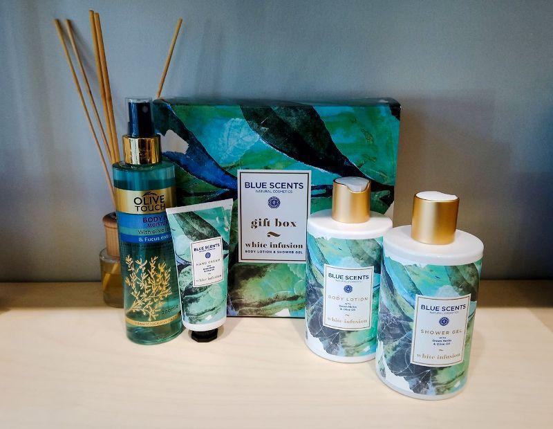 Διαγωνισμός: Κερδίστε ένα ολοκληρωμένο σετ περιποίησης της εταιρείας Blue Scents από το κατάστημα «Natans»