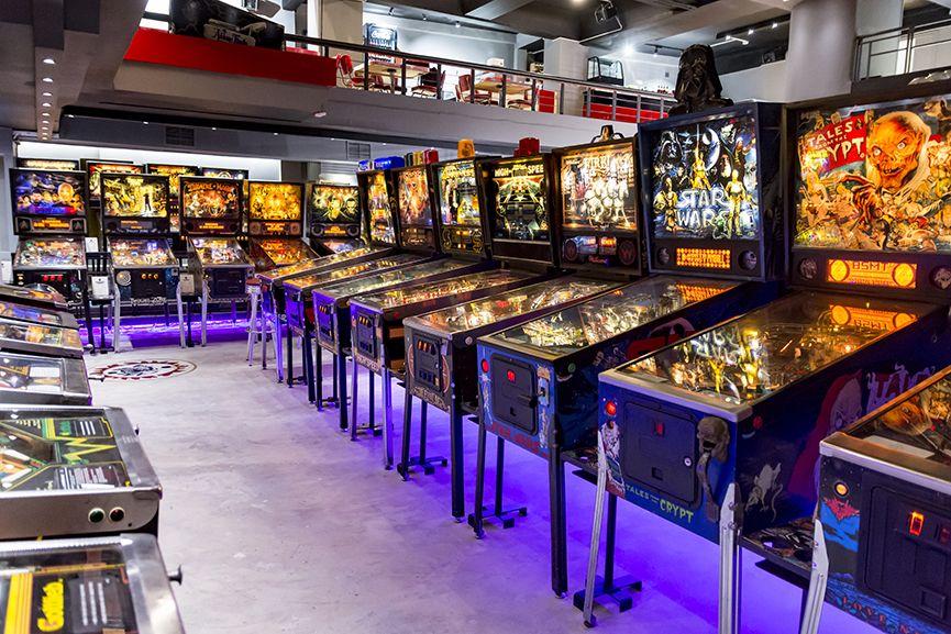Pinball Museum: Ένα μουσείο αφιερωμένο στα «φλιπεράκια» άνοιξε στο κέντρο της Αθήνας