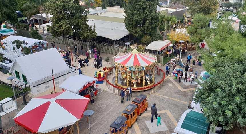 Πάρκο του Άη- Βασίλη: Οι εκδηλώσεις των τελευταίων δύο ημερών