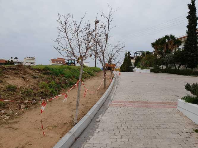 Άλιμος: Aανακατασκευή δικτύου πεζοδρόμων στην περιοχή Αμπελάκια