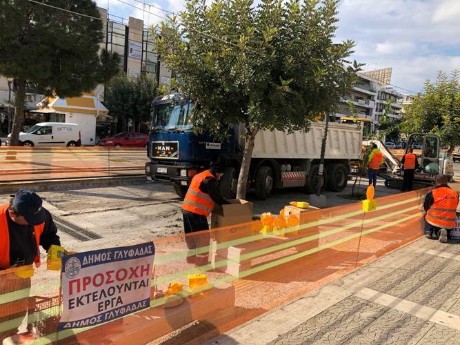 Γλυφάδα: Ξεκίνησαν και πάλι τα έργα στην Μεταξά