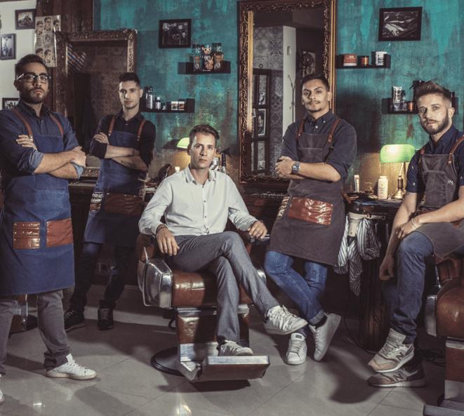 Μr. Cut: Ένα αυθεντικό barbershop στην «καρδιά» του Καλαμακίου