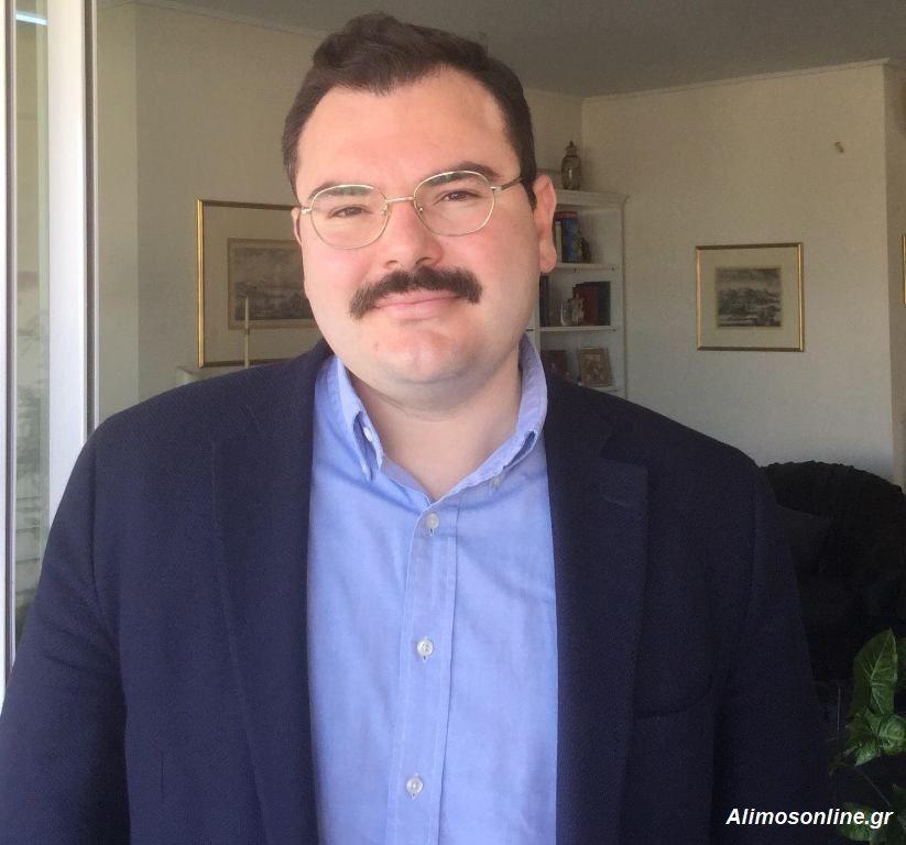 Συνέντευξη του Υποψήφιου Δημάρχου Αλίμου, Κώστα Χαρίτου, στο Alimos Online