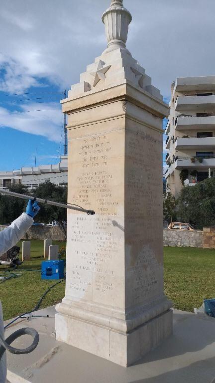 Συνεχίζονται οι εργασίες συντήρησης στο Συμμαχικό Κοιμητήριο